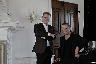 """Kunst trifft Business Programmbild """"Binde deinen Karren an einen Stern"""" mit Songpoet Andi Weiss und Oliver Groß"""